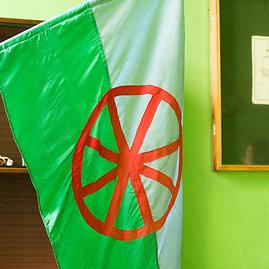 Arkadijaus Babachino nuotr./Bendrijos vėliava