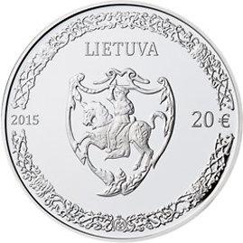 R.Mikalčiūtės/15min.lt nuotr./Kolekcinė 20 eurų moneta