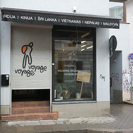 """Juliaus Kalinsko/15min.lt nuotr./Kelionių organizatoriaus """"Voyage-Voyage"""" biuras"""