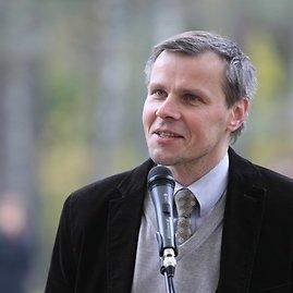 Juliaus Kalinsko/15min.lt nuotr./Europos parko direktorius Gintaras Karosas