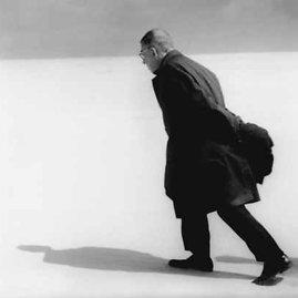 Antano Sutkaus nuotr./Jeanas Paolis Sartre`as Nidoje 1965 m.