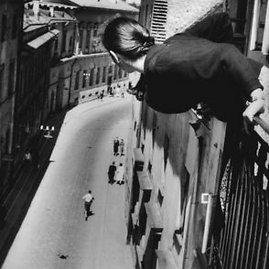 Antano Sutkaus nuotr./Maratonas Universiteto gatvėje, 1959 m.