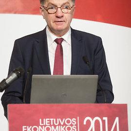 """BFL/Ingos Juodytės nuotr./Algirdas Butkevičius """"Lietuvos ekonomikos konferencijoje"""""""