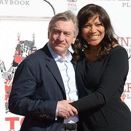 "AFP/""Scanpix"" nuotr./Robertas De Niro su žmona Grace Hightower"
