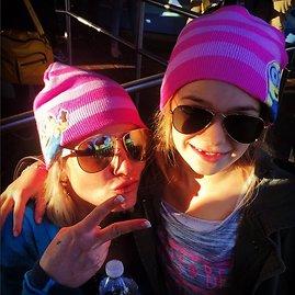 """Instagram"" nuotr./Britney Spears su dukterėčia Maddie"