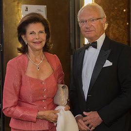 Vida Press nuotr./Švedijos karalienė Silvia ir karalius Carlas Gustafas XVI