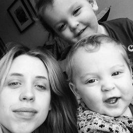 """""""Instagram"""" nuotr./Peaches Geldof su sūnumis Astala ir Phaedra"""