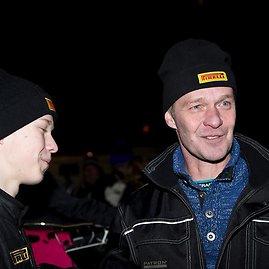 Tommi Hannineno nuotr./Harry Rovanpera ir Kalle Rovanpera