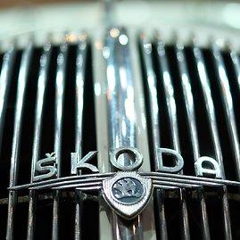 """""""Scanpix"""" nuotr./""""Škoda"""" logotipas"""