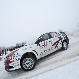 "Eriko Ovčarenko/15min.lt nuotr./""Halls Winter Rally"" šeštadienis"