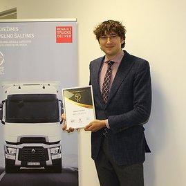 """Nedas Jakniūnas, """"Renault Trucks"""" Baltijos regiono pardavimo vadovas"""