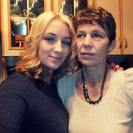 Ji24.lt skaitytojos nuotrauka/Karolina su savo mama