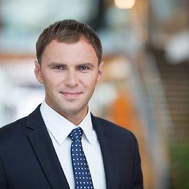 """Asmeninio archyvo nuotr./""""Swedbank"""" operacinės rizikos ekspertas Mindaugas Montvilas"""