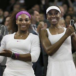 """""""Scanpix"""" nuotr./Serena ir Venus Williams"""