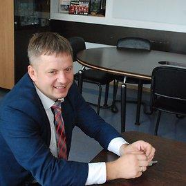 J.Lapienytės/15min nuotr./Zarasų  rajono savivaldybės administracijos direktorius Ramūnas Keršys