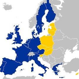 Wikipedia nuotr./Europos Sąjungos ekspansija 2004-ųjų gegužės 1 dieną