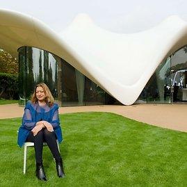 Zaha Hadid ir Serpentine Sackler galerijos priestatas Londone