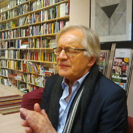 Andrzejus Sewerynas Vilniuje interviu metu
