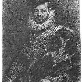 Lietuvos didysis kunigaištis ir Lenkijos bei Prancūzijos karalius Henrikas Valua