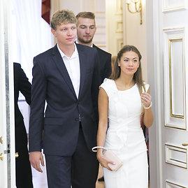 Luko Balandžio / 15min nuotr./Mindaugas Kuzminskas ir Eglė Andreikaitė