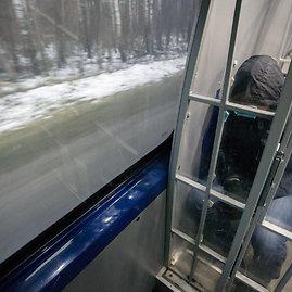Luko Balandžio/Žmonės.lt nuotr./Kalinių konvojavimas