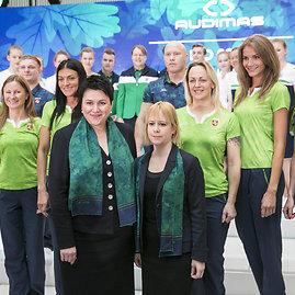 Luko Balandžio / 15min nuotr./Olimpinės rinktinės aprangos kolekcijos pristatymas