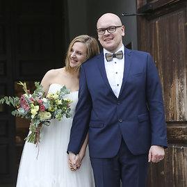 Luko Balandžio/15min.lt nuotr./Ieva Narkutė ir Mindaugas Šeduikis