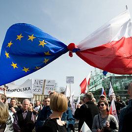 "AFP/""Scanpix"" nuotr./Protestas Lenkijoje"