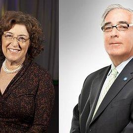 Larry Glazeris ir jo žmona Jane