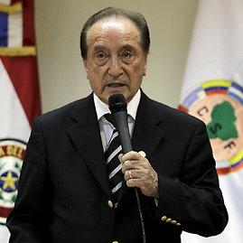 """Reuters""/""Scanpix"" nuotr./Buvęs FIFA viceprezidentas Eugenio Figueredo"