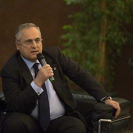 """Lazio"" finansio stabilumo garantas – prezidentas Cladio Lotito"