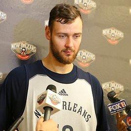 """New Orleans Pelicans"" klubo nuotr./Donatas Motiejūnas"