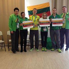 LTOK/Lietuvos olimpinė delegacija švenčia Nepriklausomybės atkūrimo dieną