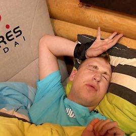 """TV3 nuotr./Projekto """"2 Barai"""" akimirka"""