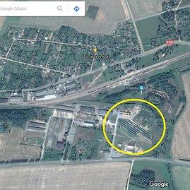 """""""Google Maps"""" nuotr./""""Investenergostroi"""" saulės elektrinės Rožankoje"""
