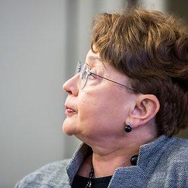 Vidmanto Balkūno / 15min nuotr./Lietuvos žydų (litvakų) bendruomenės pirmininkė Faina Kukliansky