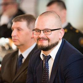 Vidmanto Balkūno / 15min nuotr./Vidaus reikalų ministro patarėjas Karolis Vaitkevičius