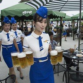 """AFP/""""Scanpix"""" nuotr./Pchenjane pirmą kartą surengtas alaus festivalis"""