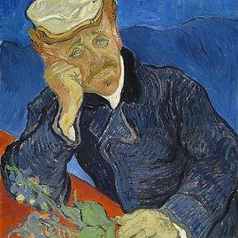 "wikipedia.org nuotr./Vincentas van Goghas 1890 m. ""Dr. Paul Gachet"" – 152 mln. dolerių"