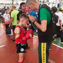 Andrejaus Zemitano nuotr./Lietuvos jaunimo muai tai rinktinė pasaulio čempionate Tailande