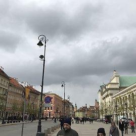 Asmeninė nuotr./Kelionės po Varšuvą akimirka