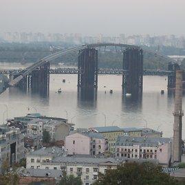 Alvydo Januševičiaus nuotr./Kijevo Pečorų laura ir senamiestis
