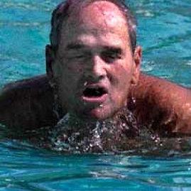 """Plaukimo istorijos įdomybės. Abouheifas – """"Nilo krokodilas"""""""