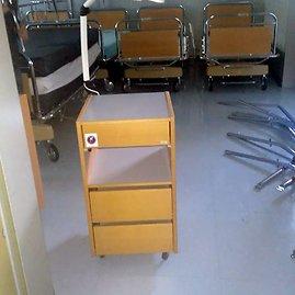 Eišiškių palaikomojo gydymo ir slaugos ligoninei Šveicarijoje padovanoti baldai