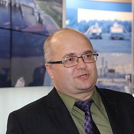 Ernesto Naprio / 15min nuotr./Baltarusijos atominės elektrinės vyriausiojo inžinieriaus pavaduotojas Vitalis Mališevskis