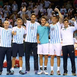 """""""Scanpix"""" nuotr./Argentinos teniso rinktinė"""