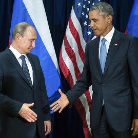 """Scanpix""/AP nuotr./Vladimiras Putinas ir Barackas Obama"