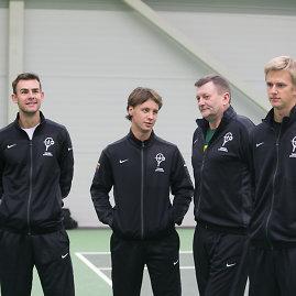 Juliaus Kalinsko/15min.lt nuotr./Lietuvos teniso rinktinė
