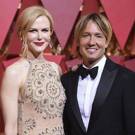 """""""Scanpix""""/AP nuotr./Nicole Kidman ir Keithas Urbanas"""