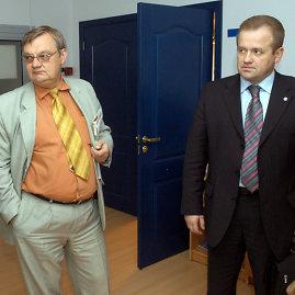 ELTA nuotr./Iš kairės: Romualdas Patalavičius, Artūras Skardžius